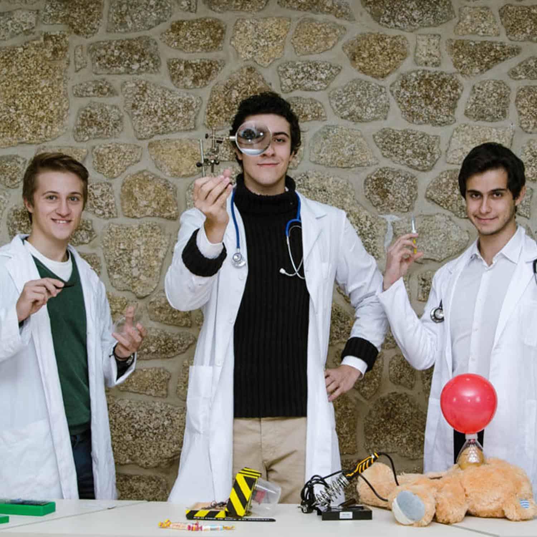 SCIENCEFFECT - Valentín, José e Carlos