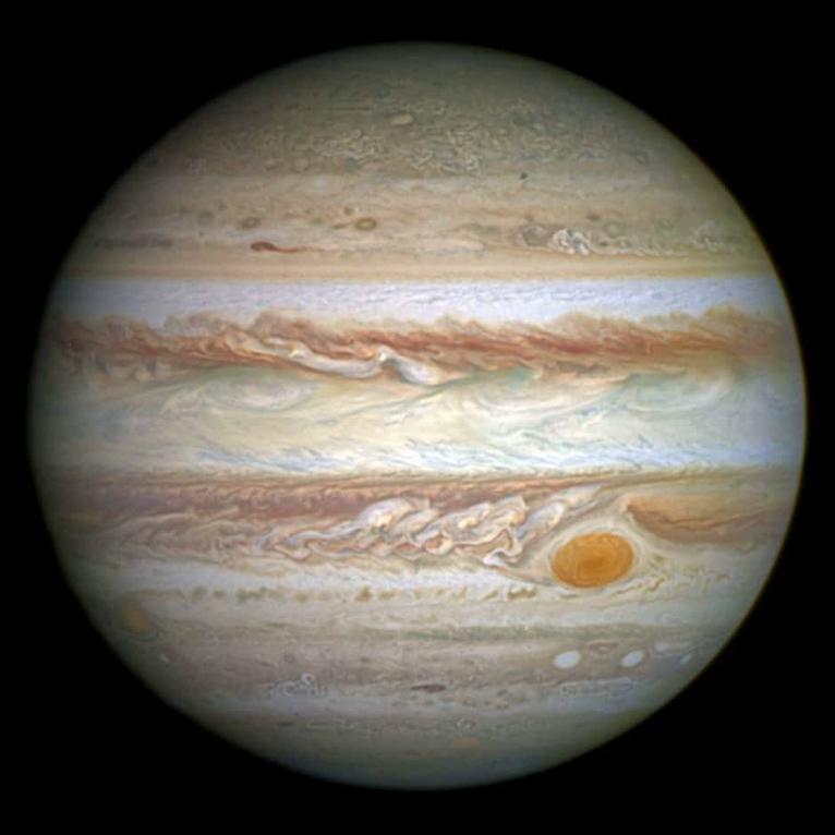 astronomia estaciones jupiter