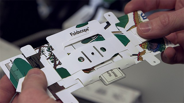 movimiento maker foldscope