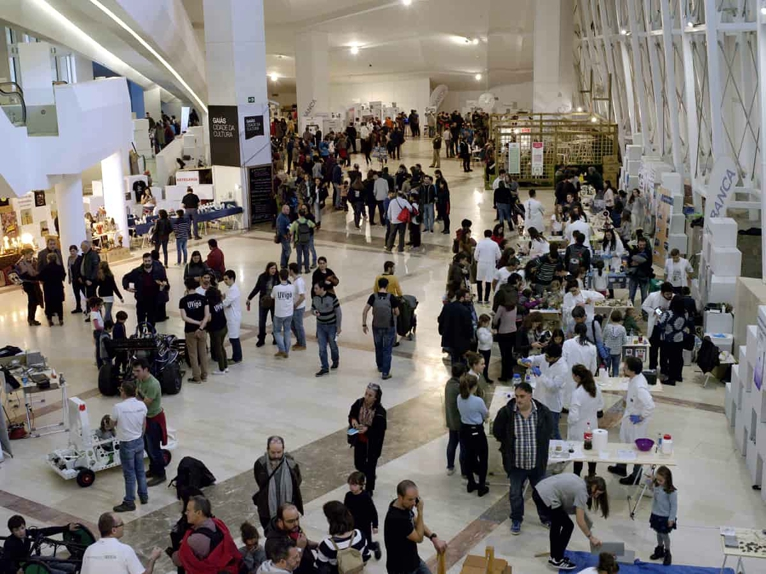Maker Faire Galicia 2017 asistentes