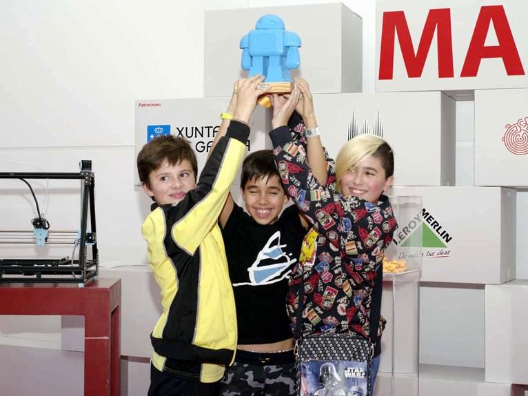 Maker Faire Galicia 2017 ganadores