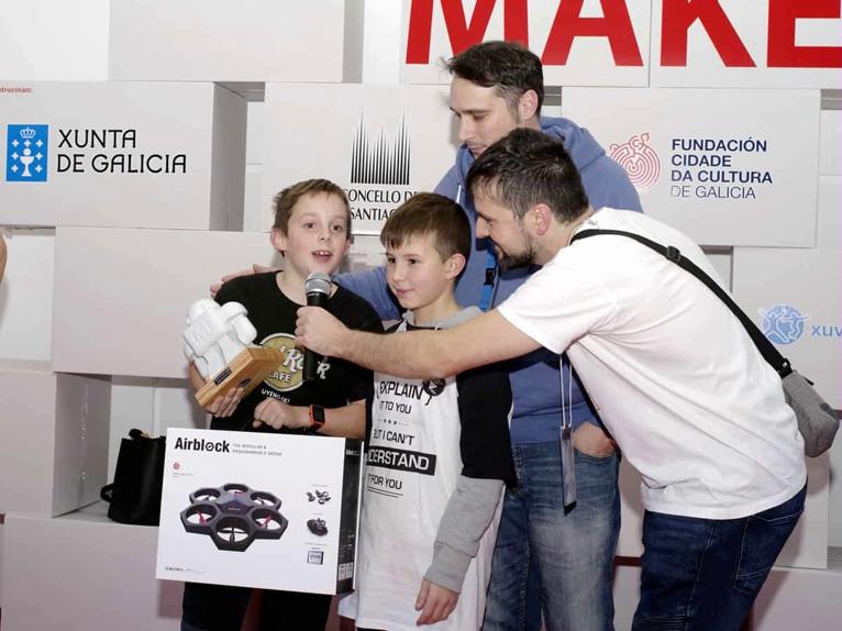 Maker Faire Galicia 2017 trabajo en equipo