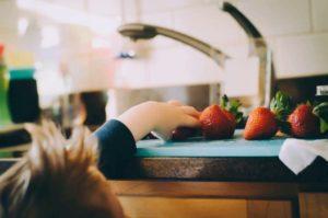 planes niños cocina