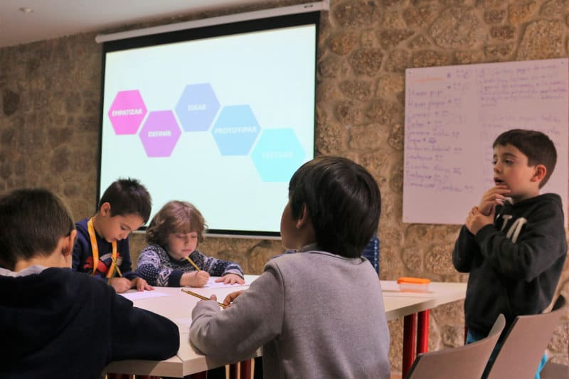 design thinking en la escuela