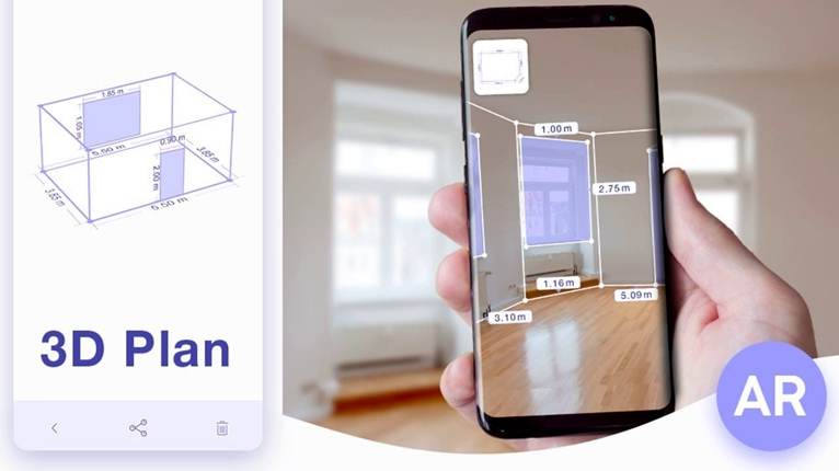 realidad aumentada funcionamiento de la app Augment