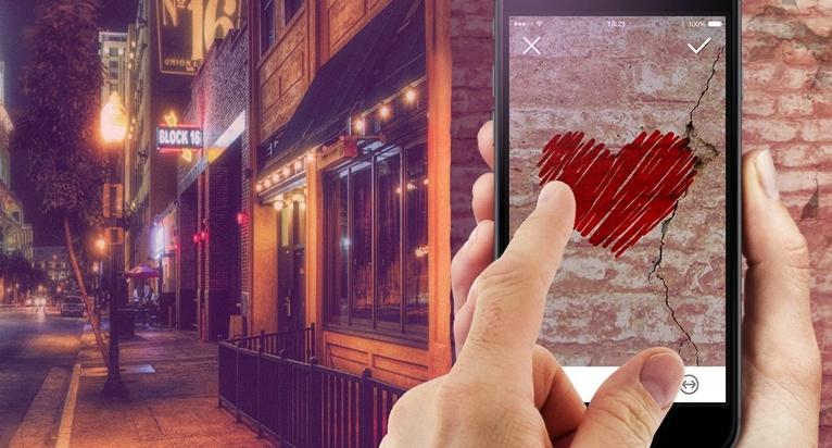 realidad aumentada  funcionamiento de la app Wallame