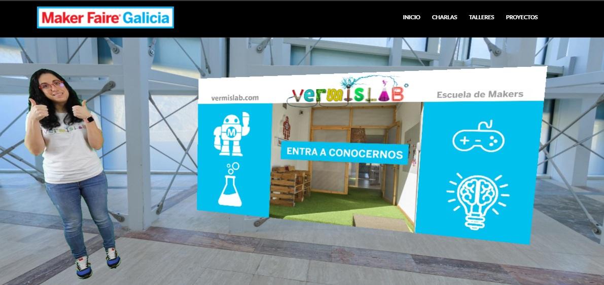 portada post vermislab maker faire galicia 2020
